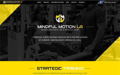 Example Website Design and Development Projects